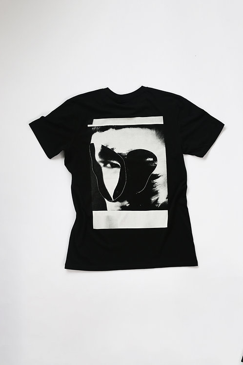 UNKNOWN COLAGE TEE - BLACK