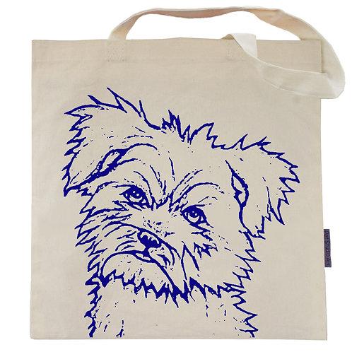 Yorkshire Terrier Tote Bag | Sharkie the Yorkie