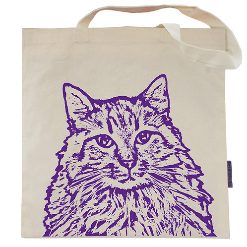 Meredith the Maine Coon Tote Bag