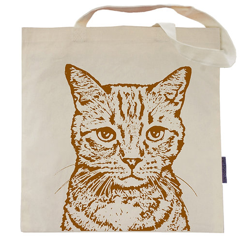 Milo the Orange Tabby Tote Bag
