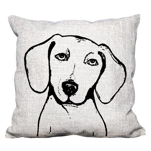 Dachshund Throw Pillow Cover