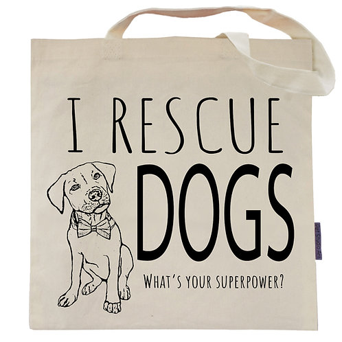 I Rescue Dogs Tote Bag