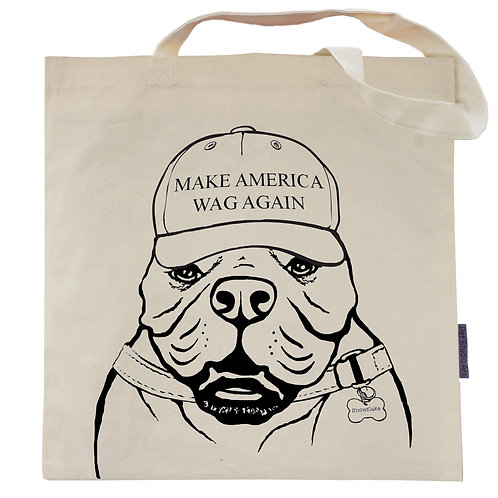 Make America Wag Again Tote Bag