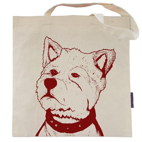 West Highland Terrier Tote Bag | Norman the Wesie