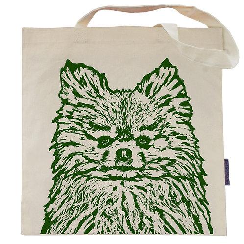 Pomeranian Tote Bag | Sage the Pom Pom