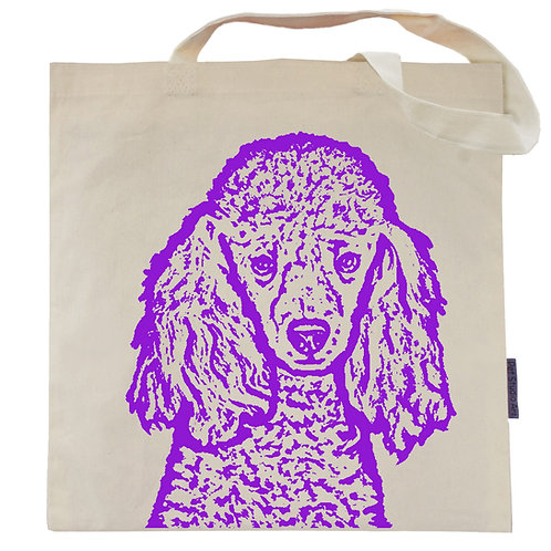 Poodle Tote Bag | Tootles the Poodle
