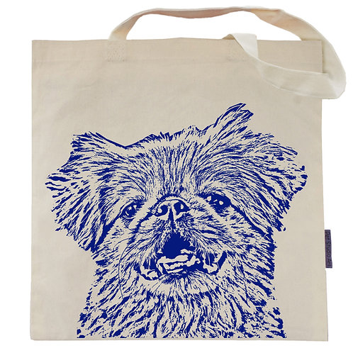 Pekingese Tote Bag | Cody the Peke