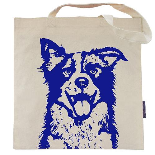 Border Collie Tote Bag | Max the BC