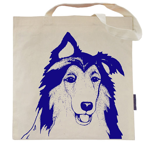 Collie Tote Bag | Riley the Collie