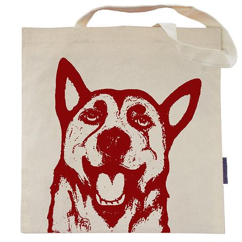 German Shepherd Tote Bag | Rocky the GSD
