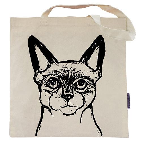 Smokie the Siamese Cat Tote Bag
