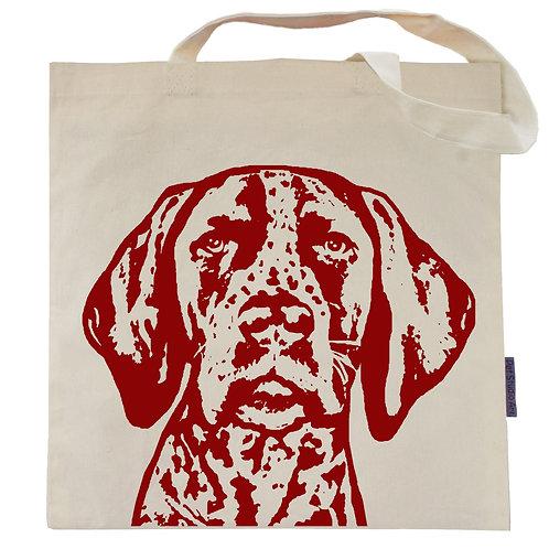 German Shorthair Pointer Tote Bag | Paisley the GSP