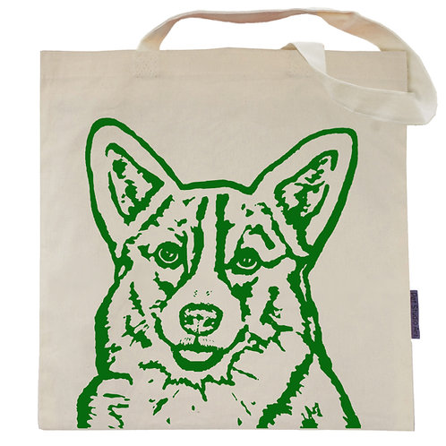 Corgi Tote Bag | Frank the Corgi