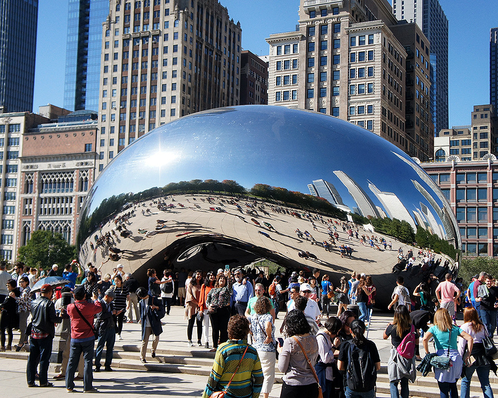 Cloud Gate (aka, The Bean)