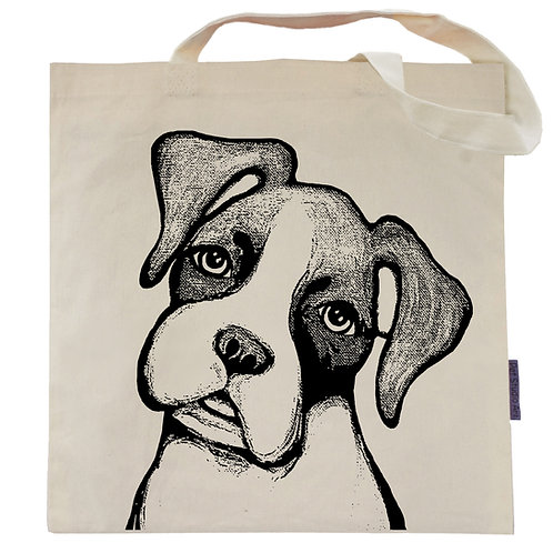 Boxer Tote Bag | Duncan the Boxer