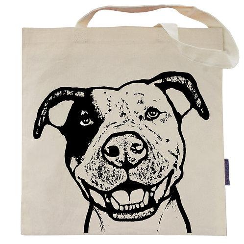Pit Bull Tote Bag | Gidget the Pidget