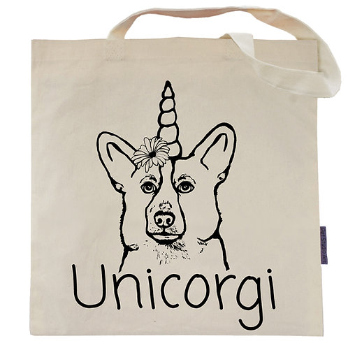 UniCorgi Tote Bag | The UniCorgi