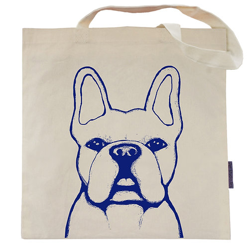 French Bulldog Tote Bag | Benny the Frenchie