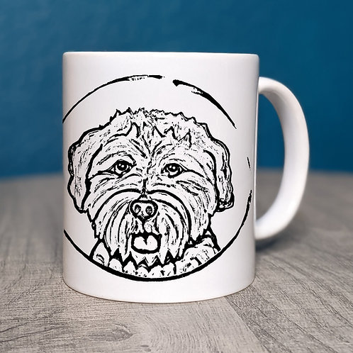 Wheaton Terrier Coffee Mug