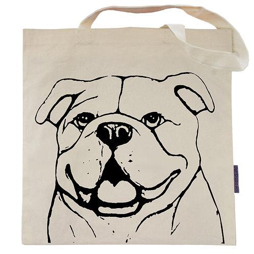 English Bulldog Tote Bag | Bianca the Bulldog