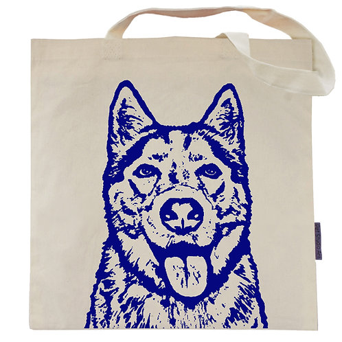 Husky Tote Bag | Flame the Husky
