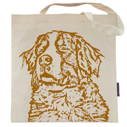Bernese Mountain Dog Tote Bag | Cosmo the Berner