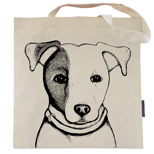 Jack Russell Terrier Tote Bag | Lilly the JRT
