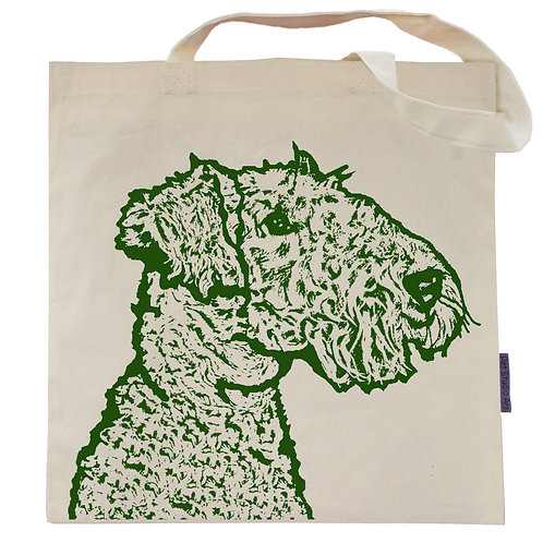 Airedale Terrier Tote Bag | Asta the Airedale