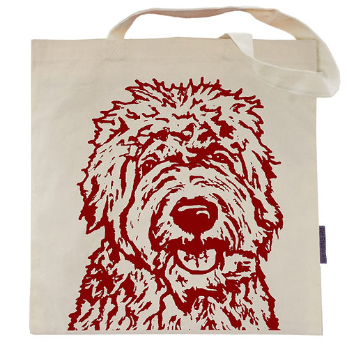 Goldendoodle Tote Bag   Shania the Doodle
