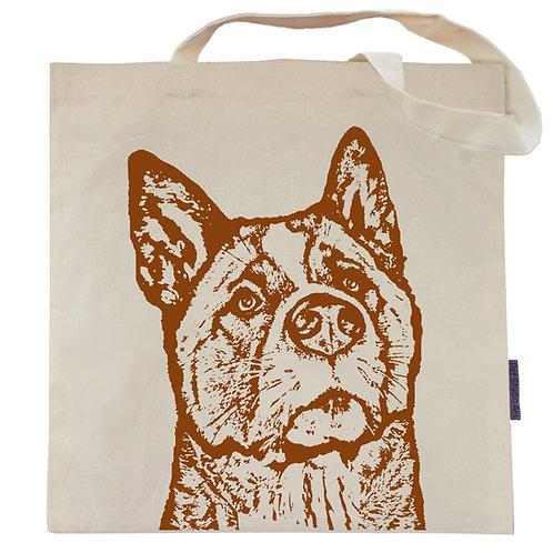 Akita Tote Bag | Wayne the Akita