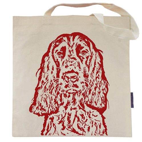 Springer Spaniel Tote Bag | Big Red the Springer