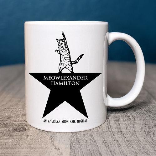 Meowlexander Hamilton Coffee Mug