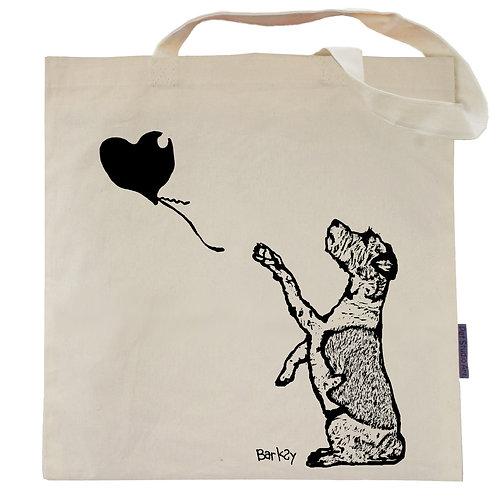 Barksy Balloon Dog Tote Bag