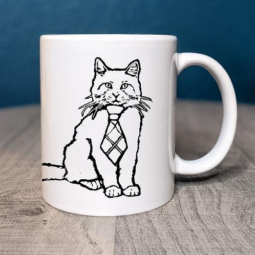Garfunkel the Cat Coffee Mug