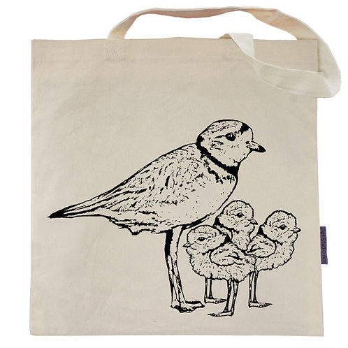 Piping Plovers Tote Bag