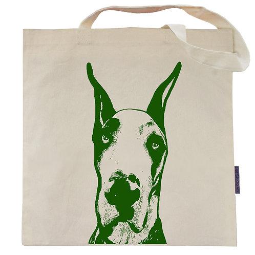 Great Dane Tote Bag | Porkchop the Dane