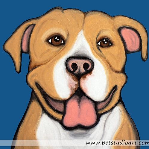 Custom 20in x 20in Pet Painting