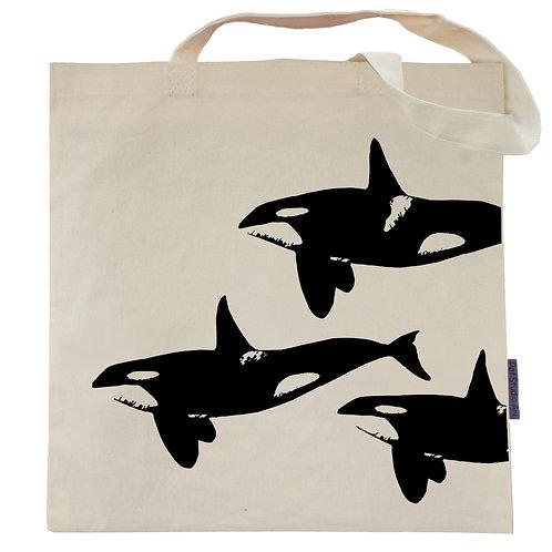 Orca Pod Tote Bag