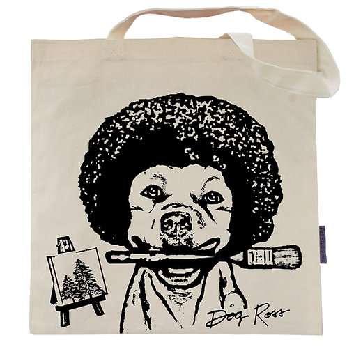 Dog Ross Tote Bag