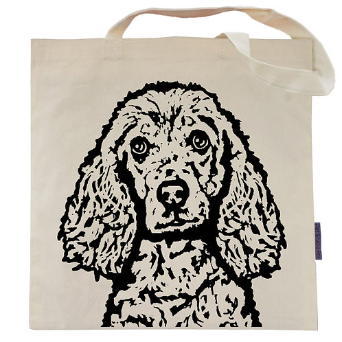 Cocker Spaniel Tote Bag | Bailey the Cocker