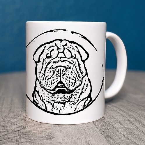 Chinese Shar Pei Coffee Mug