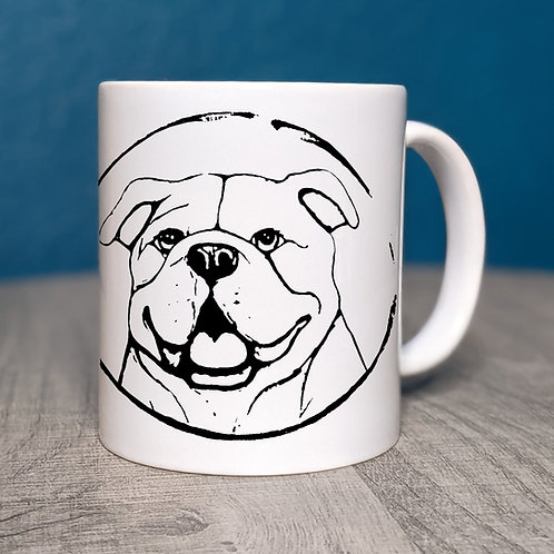English Bulldog Coffee Mug