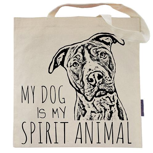 My Dog is My Spirit Animal Tote Bag