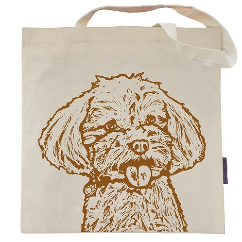 Maltipoo Tote Bag | Gracie the Maltipoo