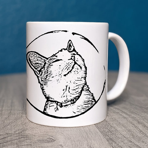 Whiskers the Cat Coffee Mug