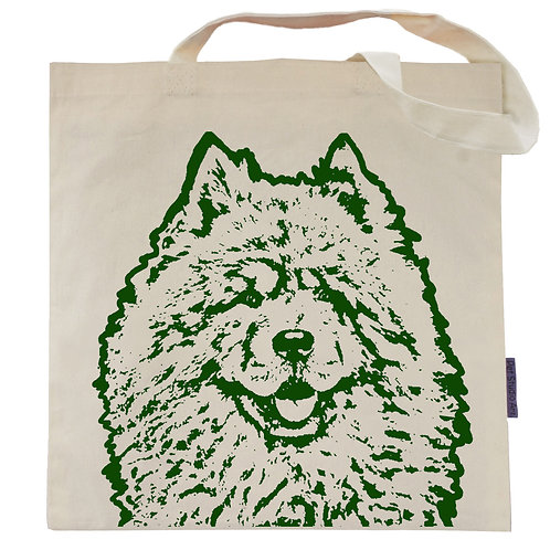 Chow Chow Tote Bag | Bear the Chow Chow