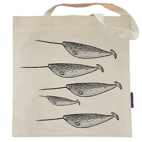 Narwhal Pod Tote Bag