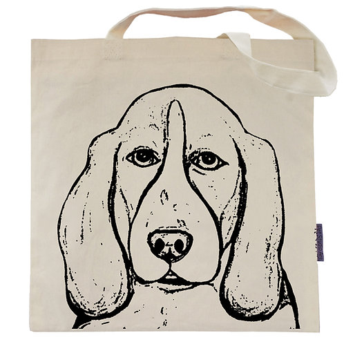 Basset Hound Tote Bag | Rembrandt the Basset