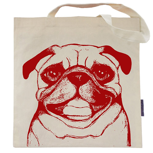 Pug Tote Bag | Ruby the Pug