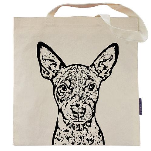 Rat Terrier Tote Bag | Beast the Rat Terrier